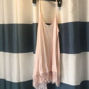 Casual lace tank top